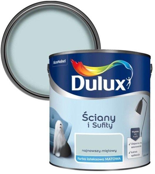 Farba Dulux Ściany i Sufity najnowszy miętowy 2,5 l