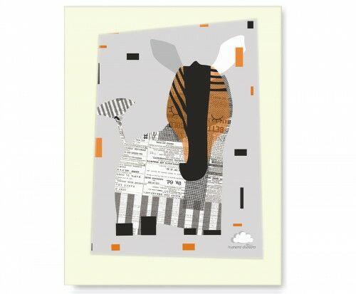 Plakat Eco Zebra1
