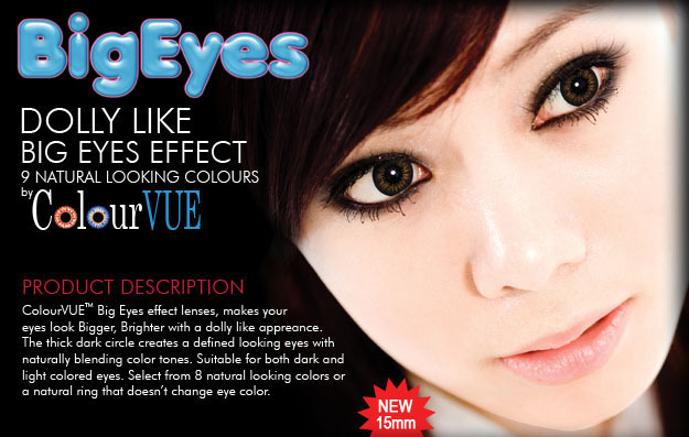 ColourVue Big Eyes Kolor- kwartalne