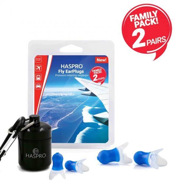 Haspro Fly Family Pack zatyczki do uszu