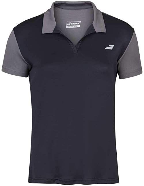 Babolat Damska koszulka polo dla kobiet, czarna/czarna, XO