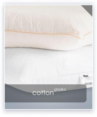 AMZ COTTON poduszka gładka antyalergiczna 50x60