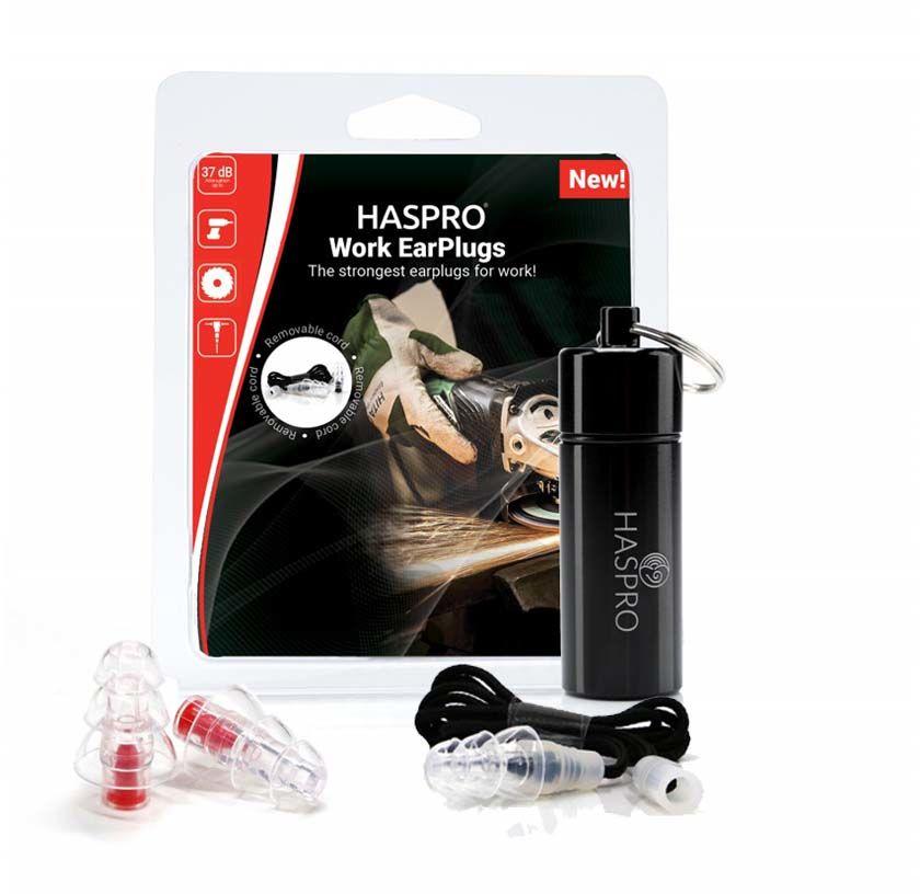 Haspro Work praca przemysł zatyczki do uszu