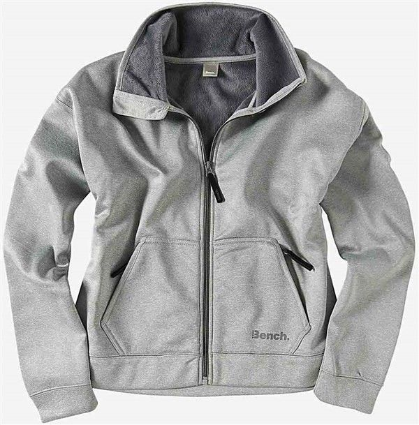 bluza BENCH - Support Mid Grey Marl (GY001X)