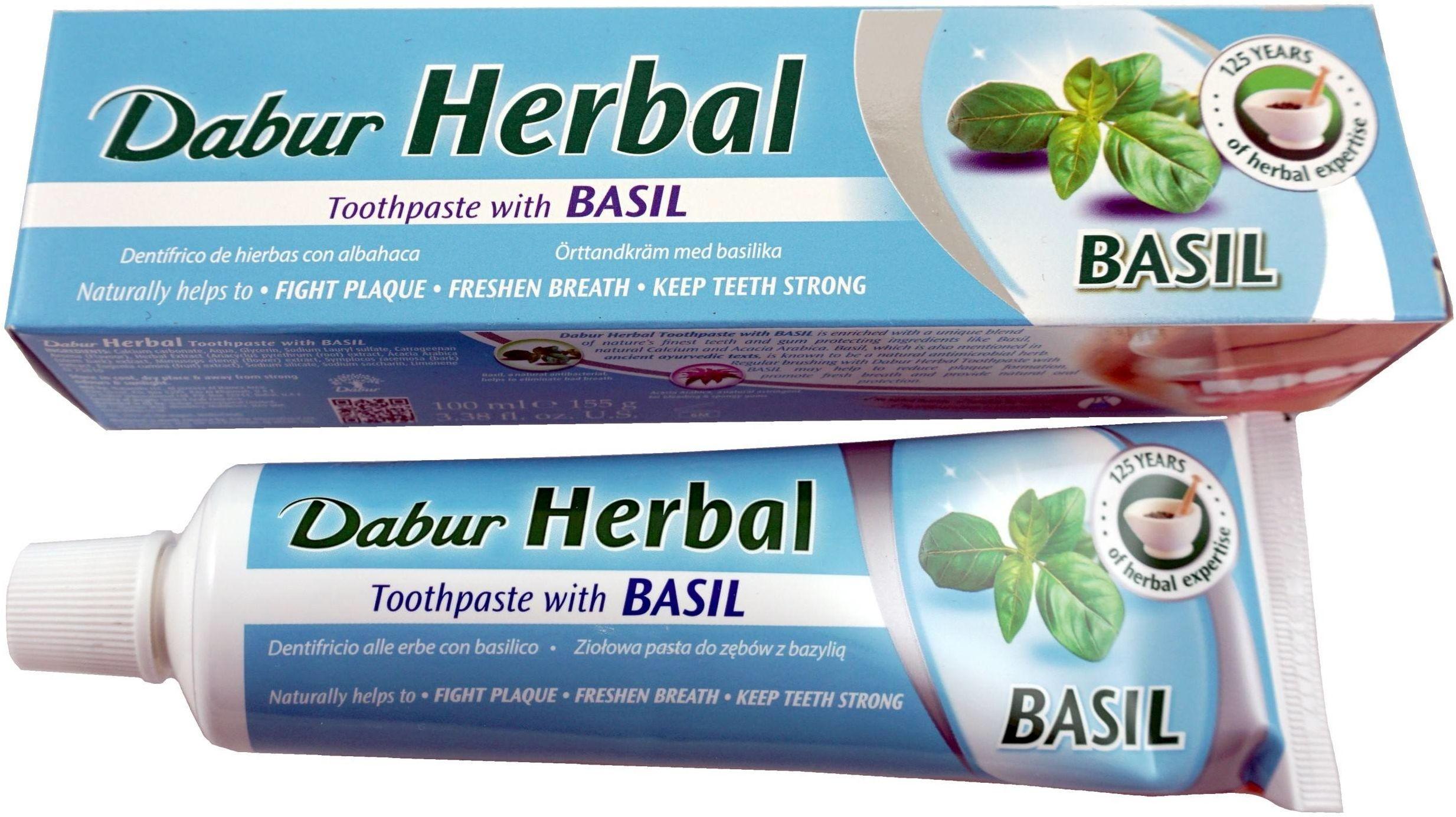 Pasta do zębów z Bazylią - 100ml - Dabur