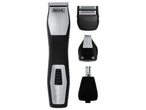 Trymer do włosów, zarostu, uszu, nosa, brwi + golarka Wahl 9855-1216 GroomsMan Pro
