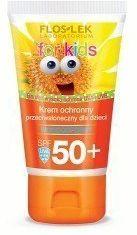 Flos-lek Floslek Sun Care Krem ochronny przeciwsłoneczny dla dzieci SPF 50+ bardzo wysoka ochrona