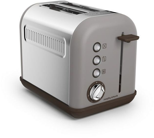 Morphy richards - toster accents special edition na 2 kromki - szary