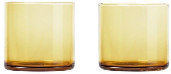 Blomus - zestaw 2 szklanek, 0,20 l, złoty