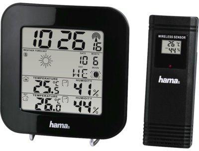 Stacja pogody HAMA EWS-200 Czarna