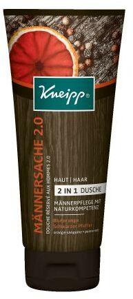 Kneipp Men Only 2.0 żel pod prysznic 200 ml dla mężczyzn