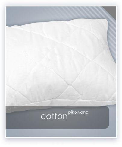 AMZ COTTON poduszka pikowana antyalergiczna 40x40