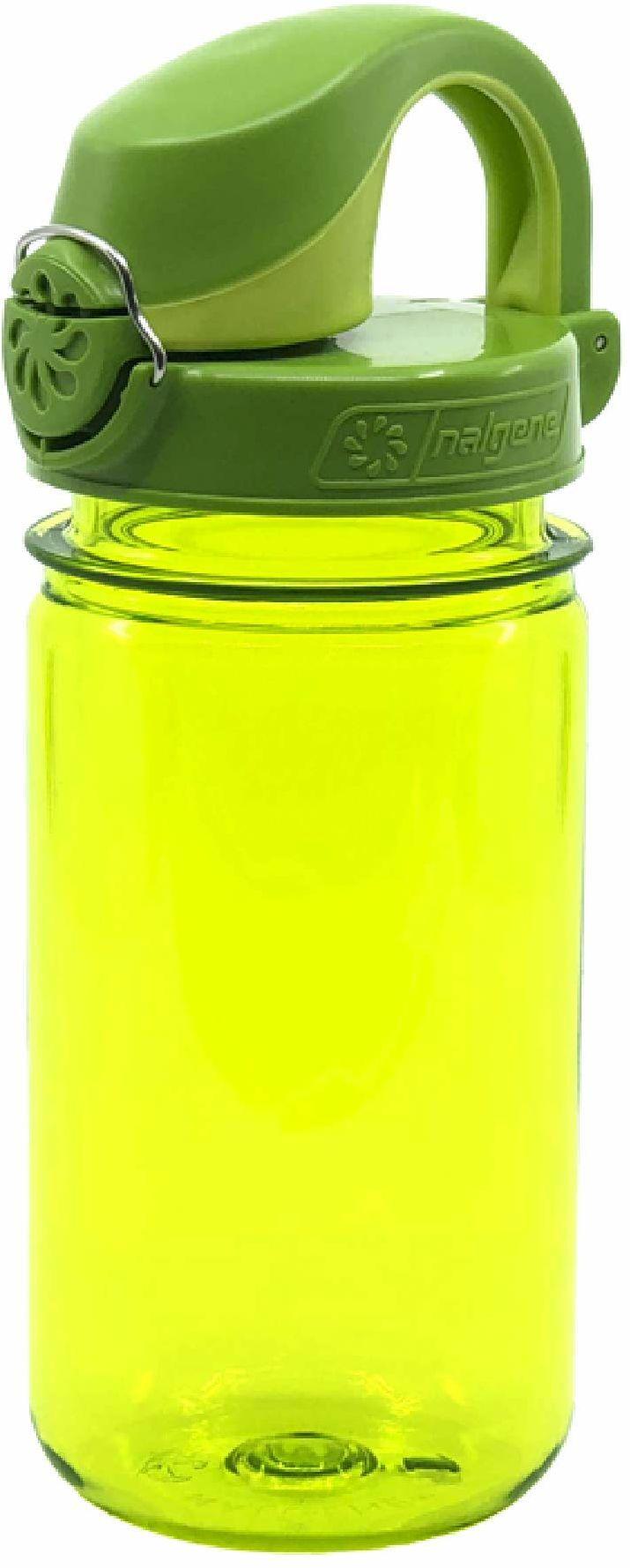 Nalgene Szczelna butelka na wodę dla dzieci na zewnątrz na kemping dostępna w kolorze zielonym - 375 ml