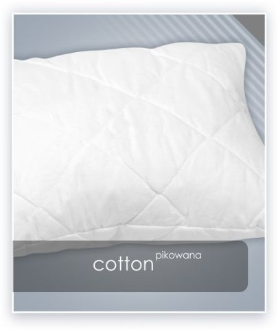 AMZ COTTON poduszka pikowana antyalergiczna 40x60