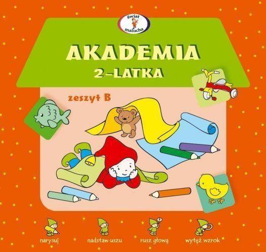 Akademia 2-latka. Zeszyt B - Dorota Krassowska
