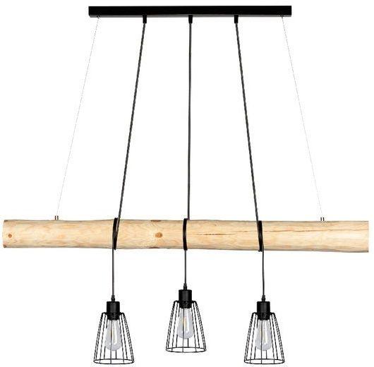 SPOTLIGHT Trabo Long nowoczesna wisząca lampa z drucianymi kloszami 69214304