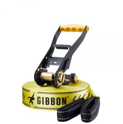 GIBBON Classic Line X13 XL Slackline XL żółty Slackline -