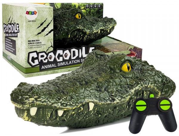 Głowa Krokodyla Łódź Zdalnie Sterowana 2.4G