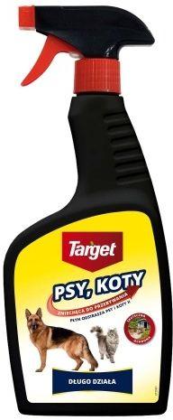 Spray odstraszający psy i koty  500 ml target