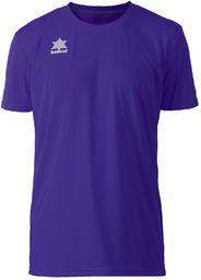 Luanvi Męska koszulka sportowa z krótkim rękawem fioletowy ciemny fiolet XXS