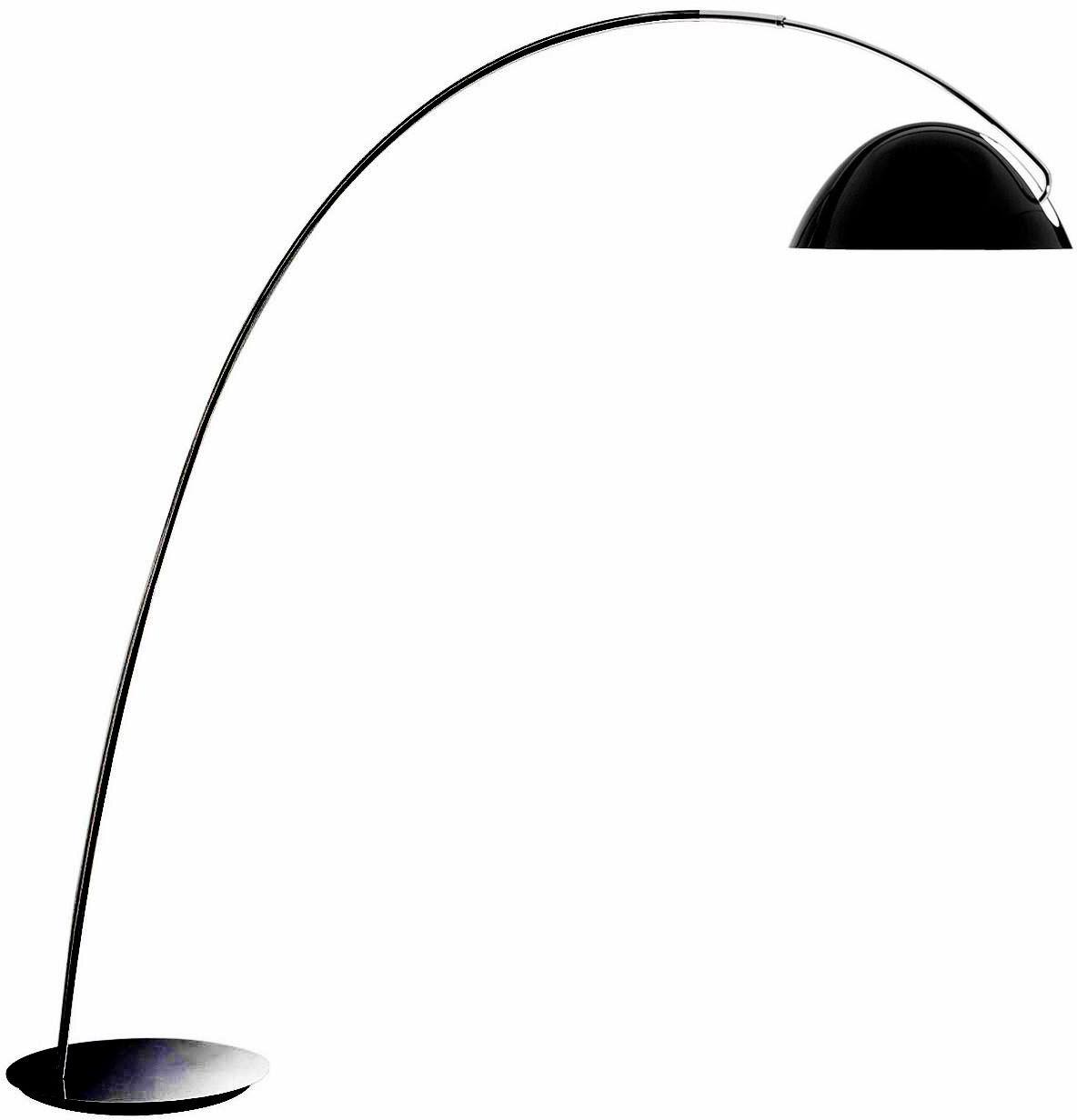 Lampa podłogowa Pluma P-2959 Estiluz czarna oprawa w stylu design