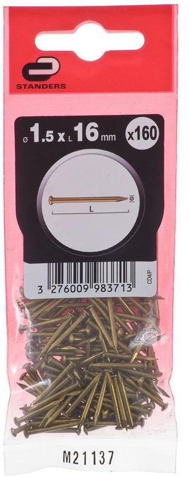 Gwóźdź 1.5 x 16 mm STANDERS