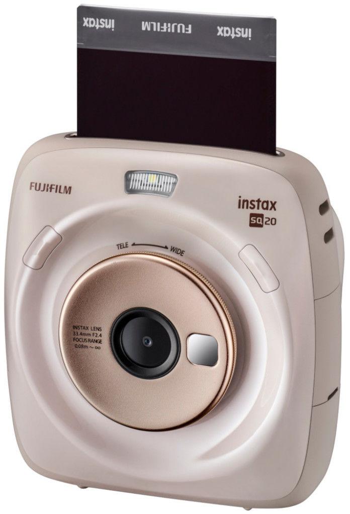 Aparat Fujifilm Instax Square SQ20 (beżowy)