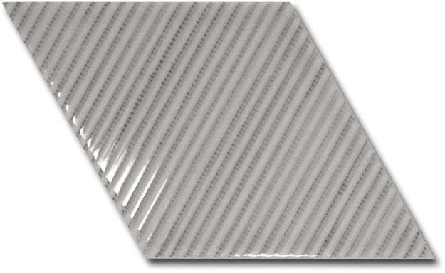 Rhombus Wall Grey Bambu 15,2x26,3