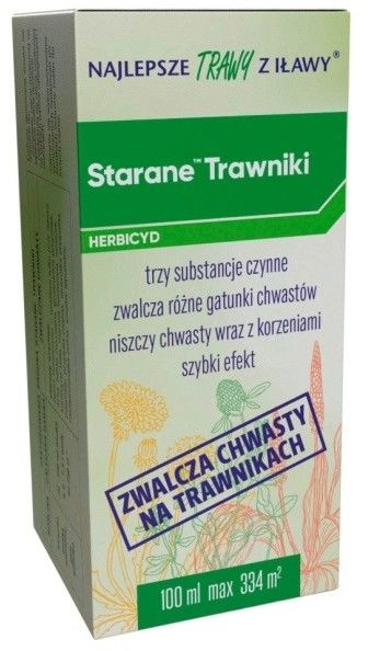 Środek chwastobójczy Staranne Trawniki 260 EW 100 ml