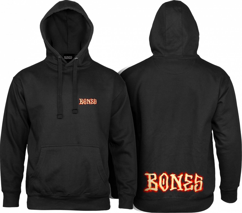 bluza męska BONES BLAZER HOOD Black