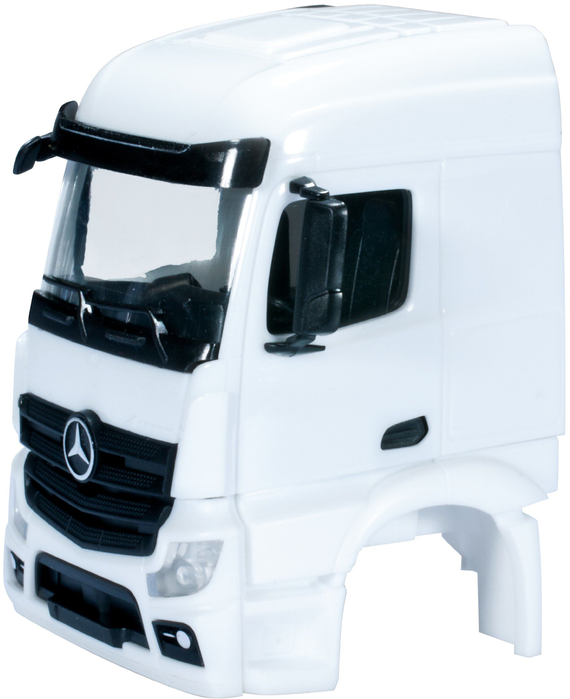 herpa 083690 083690-Mercedes-Benz A3s Streamspace 2,3 cab sep grill bez WLB, 2 szt