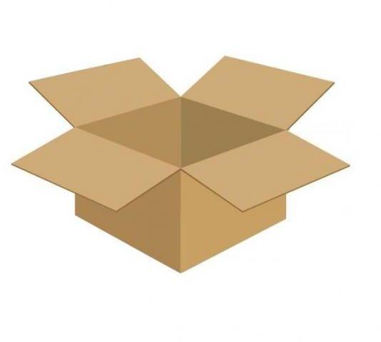 Karton klapowy tekt 3 - 350 x 300 x 200 420g/m2 fala C wymiar zewnętrzny