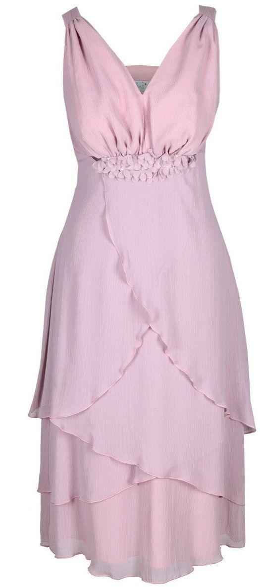 Sukienka FSU220 RÓŻOWY