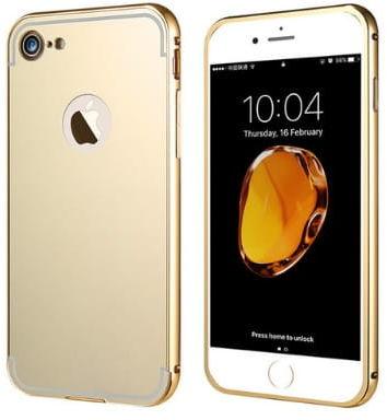 Etui Mirror Case Apple iPhone 7 Złoty