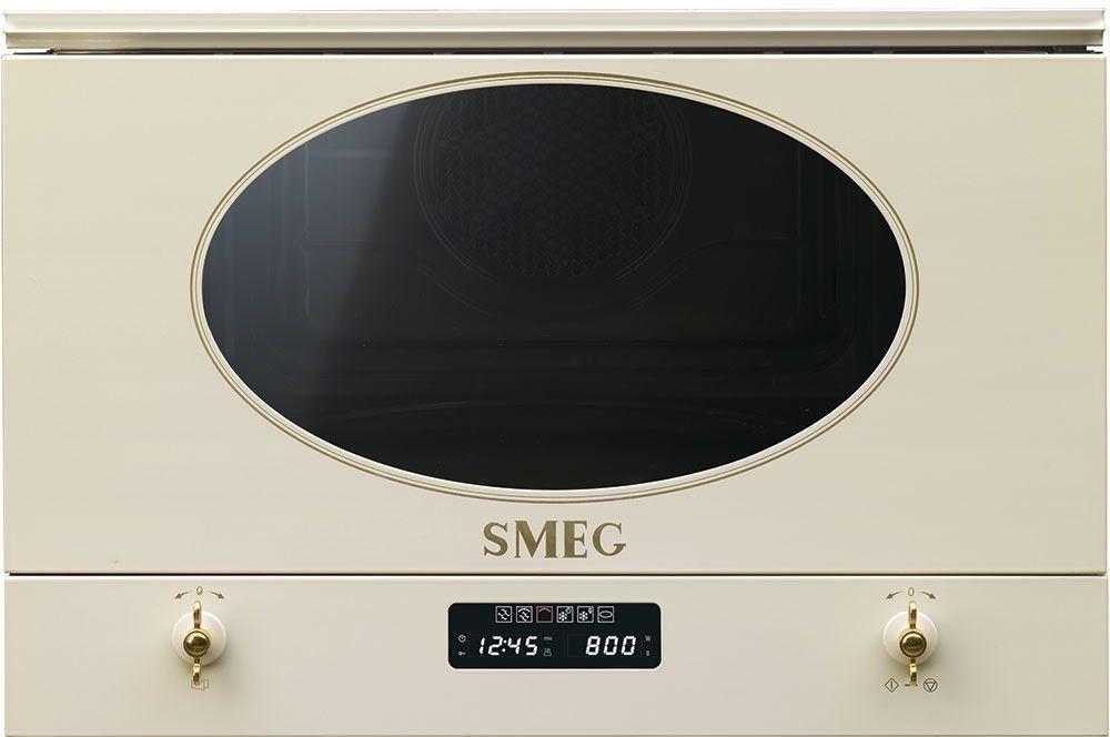 Kuchenka Mikrofalowa Smeg MP822PO - Użyj Kodu - RATY 10 X 0 % I GWARANCJA 5 LAT I Z KODEM S45 DO 45% RABATU I tel. 22 266 82 20 !