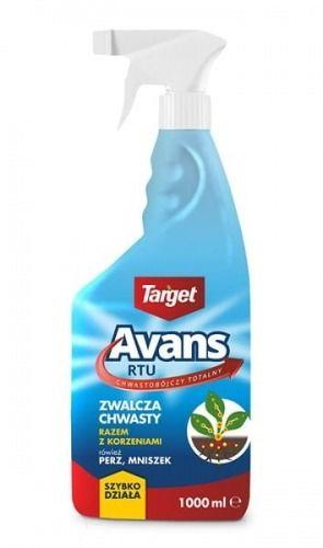 Avans rtu spray  środek chwastobójczy totalny  1 l target