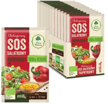 Sos sałatkowy paprykowy BIO 10 g Dary Natury