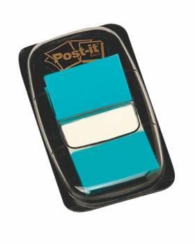 Zakładki POST-IT 25 X 43 mm jaskrawoniebieskie 50 kartek - X04453