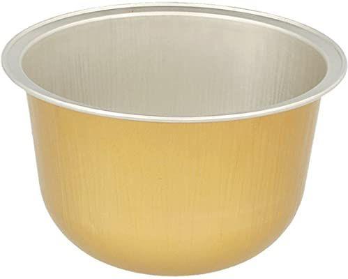 Pojemnik do piekarni - 150 ml Ø 8,5 x 4,3 cm złoto aluminium - 100 jednostek