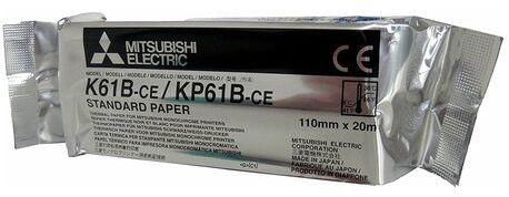 Papier matowy do wideoprintera Mitsubishi K61B / KP61B