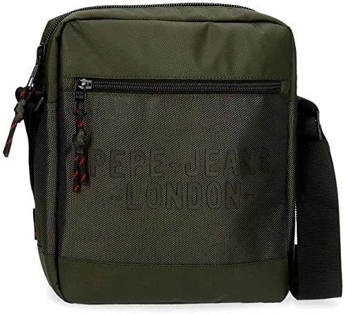 Torba na ramię do tabletu Pepe Jeans Bromley zielona