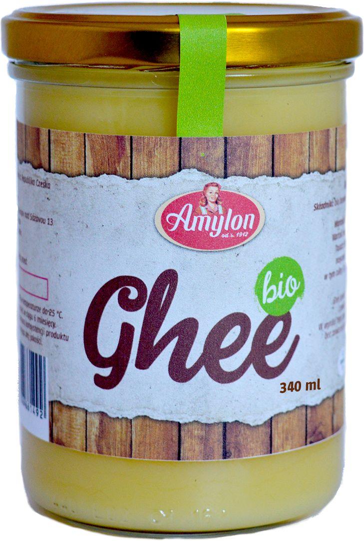 Masło klarowane ghee bio 340 ml - amylon