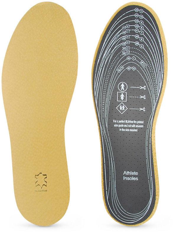 Wkładki lateksowe pokryte miękką skórą, do butów rozm. 32-47