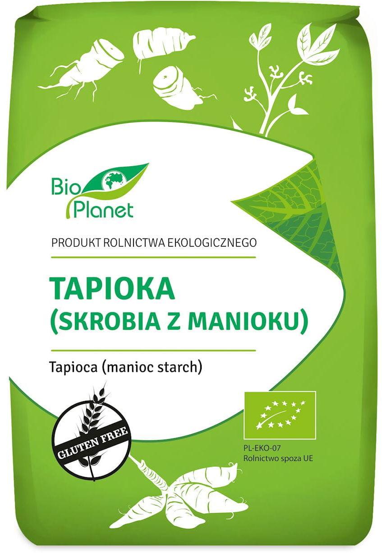 Tapioka (skrobia z manioku) bezglutenowa bio 800 g - bio planet