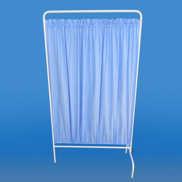 Parawan medyczny 1 częsciowy z załoną bawełnianą lub zmywalną