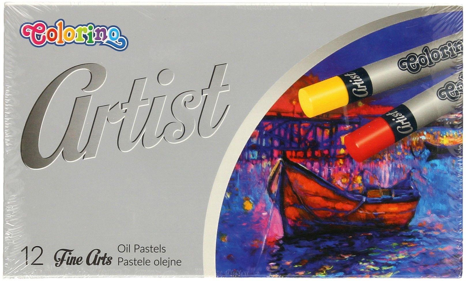 Pastele olejne 12kol Artist Colorino 65702PTR