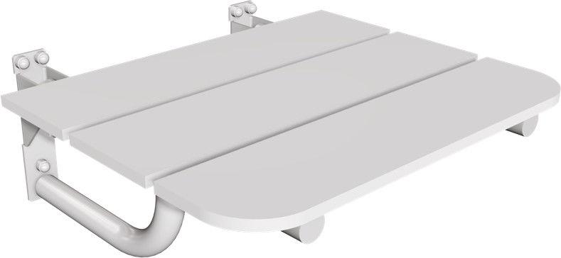 Siedzisko prysznicowe białe