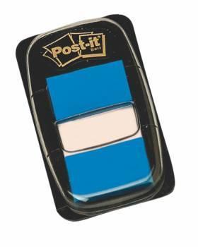 Zakładki POST-IT 25 X 43 mm niebieskie 50 kartek - X04452