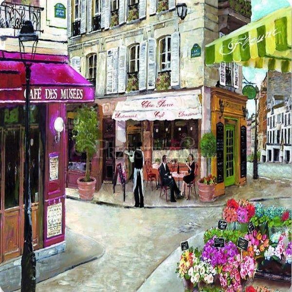 SERWETKI PAPIEROWE - Rue de Paris - Paryska Kawiarnia RDP