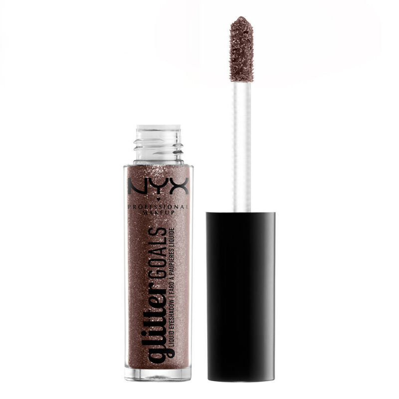 NYX Professional Makeup - Glitter Goals Liquid Eyeshadow - Brokatowy cień do powiek w płynie - 03 MULTIVERSE
